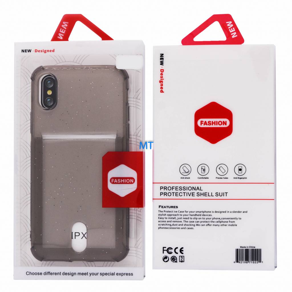 Card Anti Shock Silicone For I-Phone 7 & 8