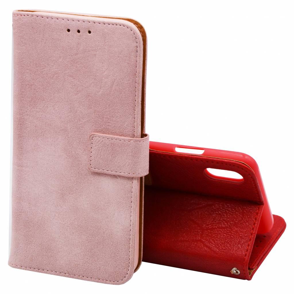 Luxury Book Case Galaxy A6 Plus