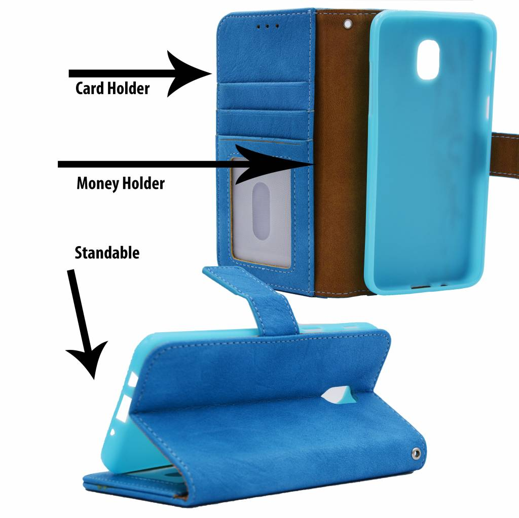 Luxury Book Case For I.Phone 5 / 5S