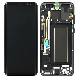 LCD Samsung Galaxy S9 Plus G965F  Display Unit Grey Service Pack GH97-21691C