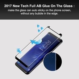 Small 3D Full Glue Glass Galaxy S8 Plus