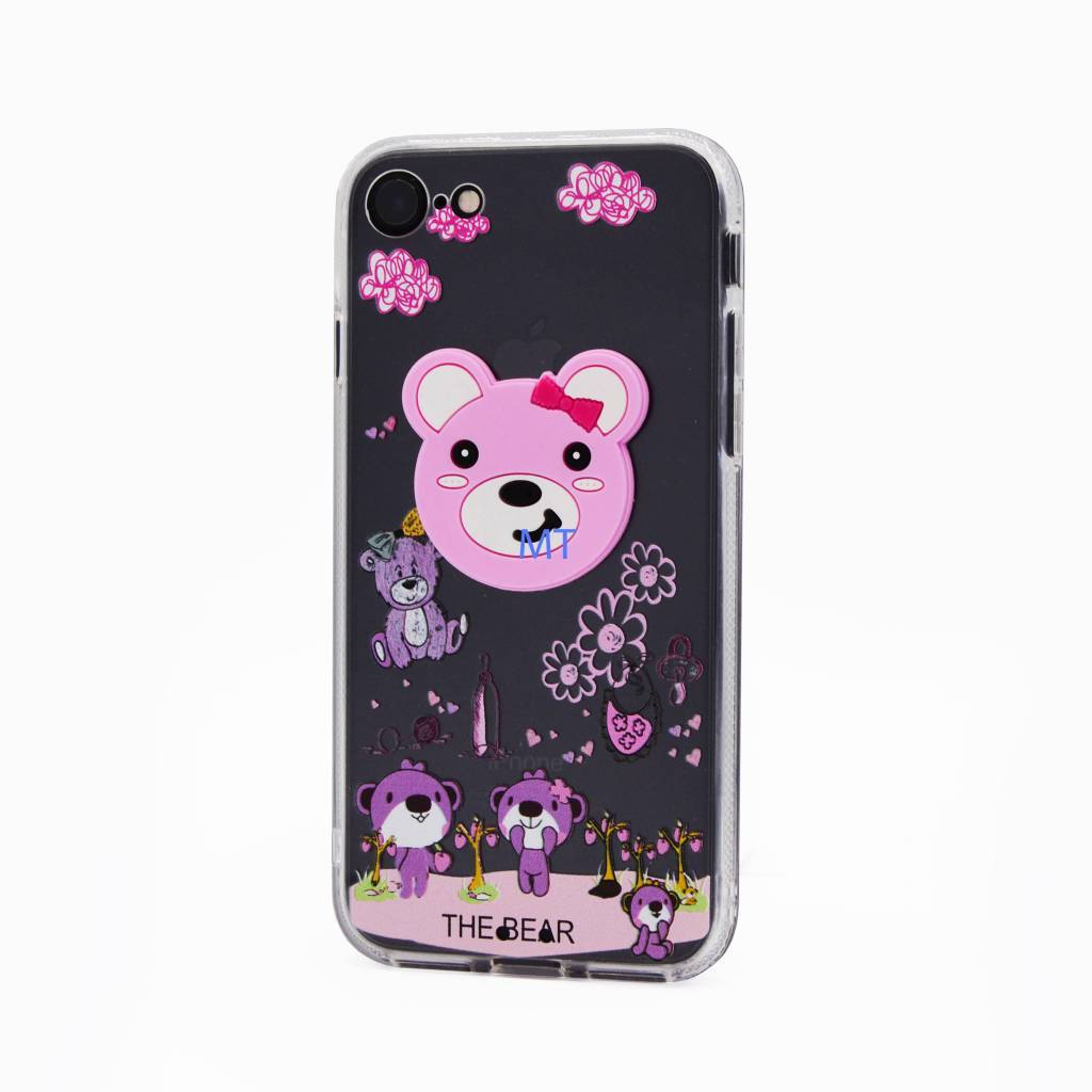 3D Bear Silicone Case Galaxy S8 Plus