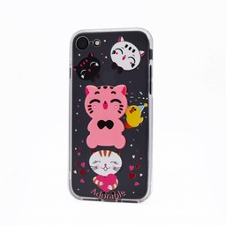 3D Kitty Silicone Case Galaxy A3 (2017)