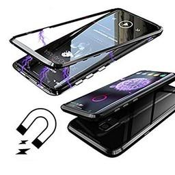 Full Glass Magnet Strong Case For I-Phone 10