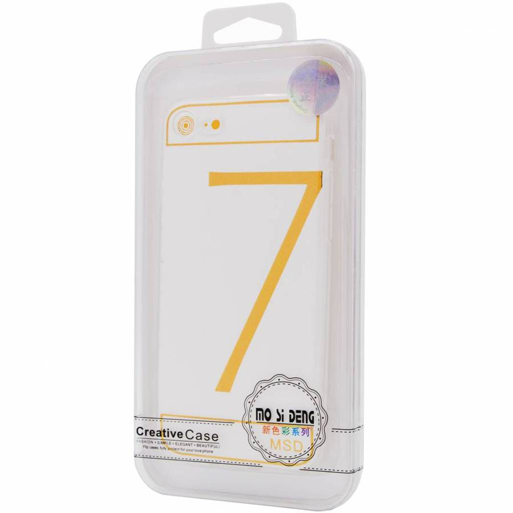 Clear Silicone Case  For I-Phone 8
