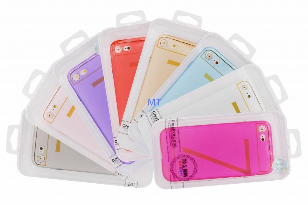 Clear Silicone case Galaxy S9