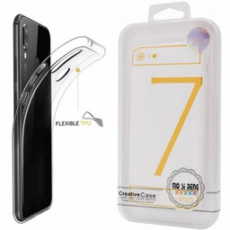 Clear Silicone case I-Phone 7 Plus