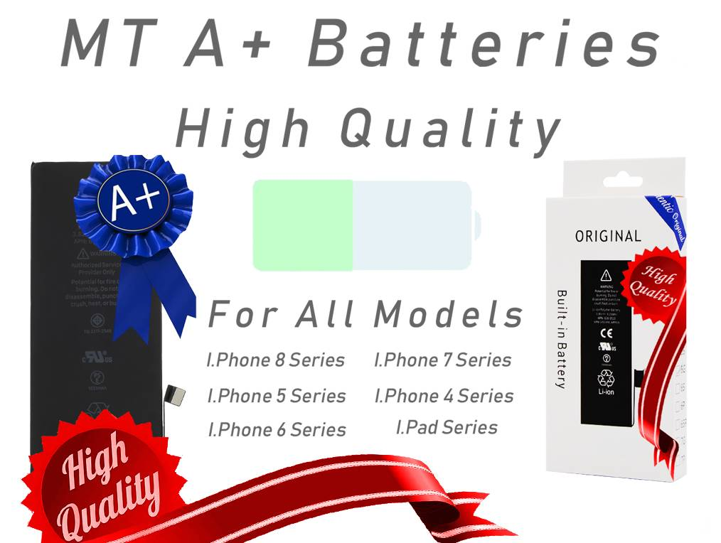 MT A+ Batteries For i.Phone