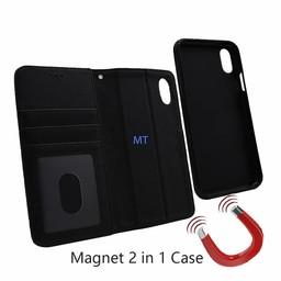 Lavann 2 in 1 Leather Book Case I.Phone Xs Max