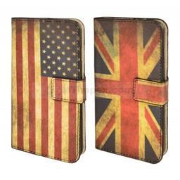 Vintage Flag Book Case IPhone 6 Plus