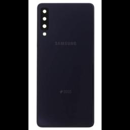 Samsung A750F Galaxy A7 2018 Duos Back Cover Black GHB2-17833A