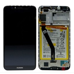 LCD + Frame & Battery Huawei Y6 2018 Black 02351WLJ
