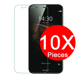 10x Tempered Glass Protector Ascend P Smart Plus