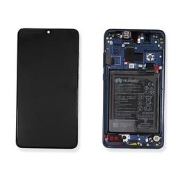 A+ LCD & Frame Huawei Ascend Mate 20 Blue 02352FQM  Blue