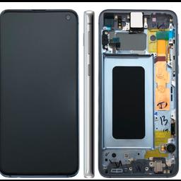 LCD SAMSUNG GALAXY S10 G973F White GH92-18850B