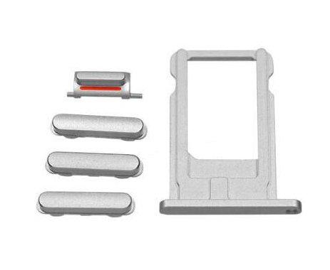 Sim Tray + Volume/Power/Mute Switch Button Keys I-Phone 6 Plus