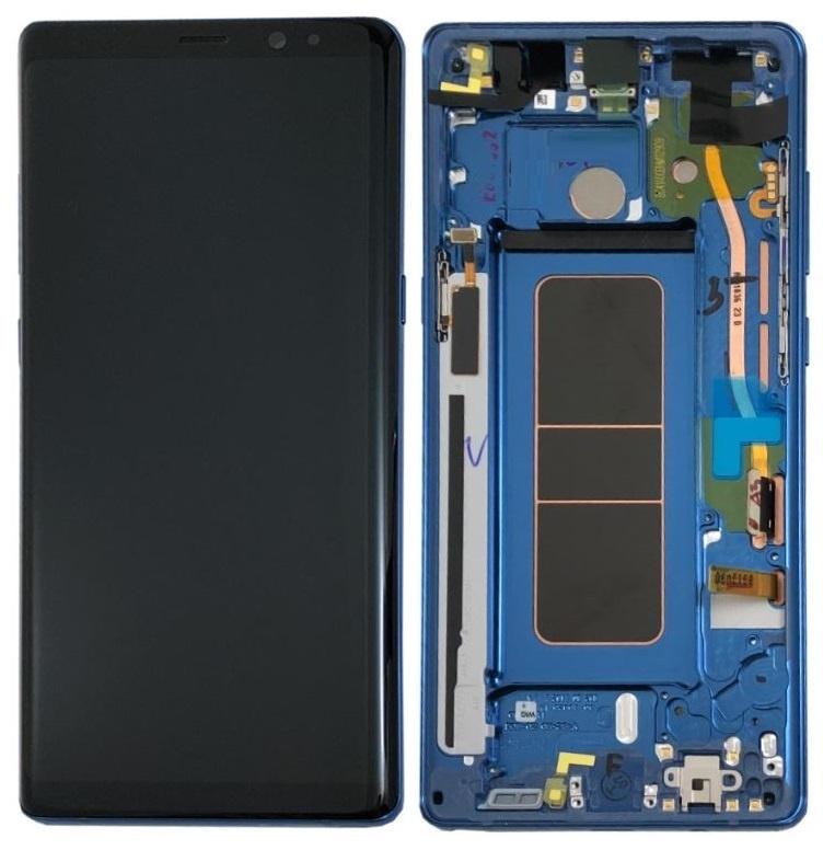LCD Samsung Galaxy Note 8 Blue GH97-21065B
