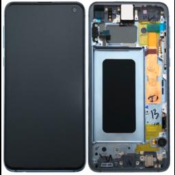 LCD SAMSUNG GALAXY S10 G973F Blau GH82-18850C