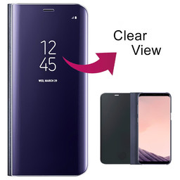 Clear View Standing Cover Galaxy A20