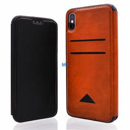 Lavann Lavann Back Card Leather For I.Phone XS Max
