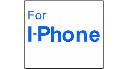 Für i-phone / i-pod glas displayschutzfolie