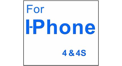 For I-Phone 4 & 4S