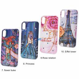 Silicone Print Case Galaxy A7 2018