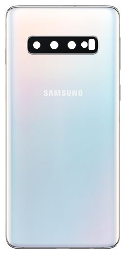 Samsung G973F Galaxy S10 Battery Cover/Deksel White GH82-18378F