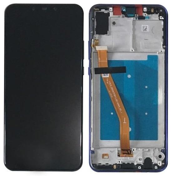 LCD + Frame & Battery  Huawei Nova 3 Blue 02352BQN