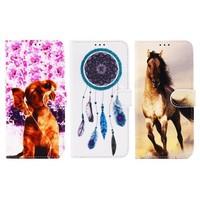 Print Book Case Galaxy S6 Edge G925 (
