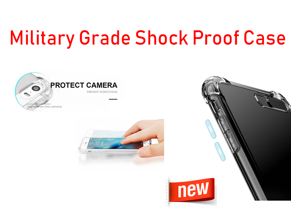 Military Anti Shock Proof Silicone Case