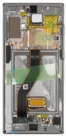 LCD Samsung Galaxy Note 10 Silver GH82-20818C