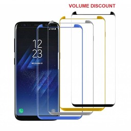 Small Glass Protector 3D Curved Galaxy S10 Plus