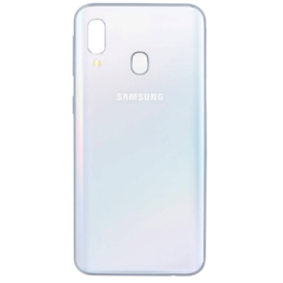Samsung A405F Galaxy A40 Battery Cover/Deksel White GH82-19406B