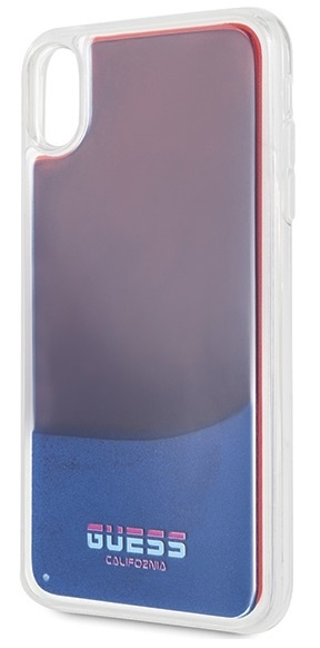 Guess For I-Phone XS Max Silicone Case EXP Red GUHCI65GLCRE