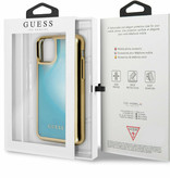 Guess For I-Phone 11 Pro 5.8''  Liquid Glitter Hard Case Glow GUHCN58GLTRBL