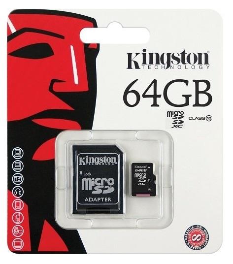 Class 10 SDCS2 64GB Micro Kingston