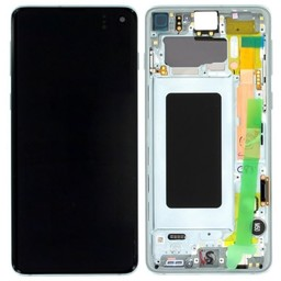 LCD SAMSUNG GALAXY S10 G973F Prism Green GH82-18850E
