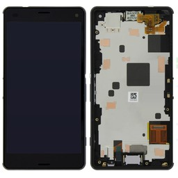 LCD  Sony Xperia M2 Touch Screen with Frame Black