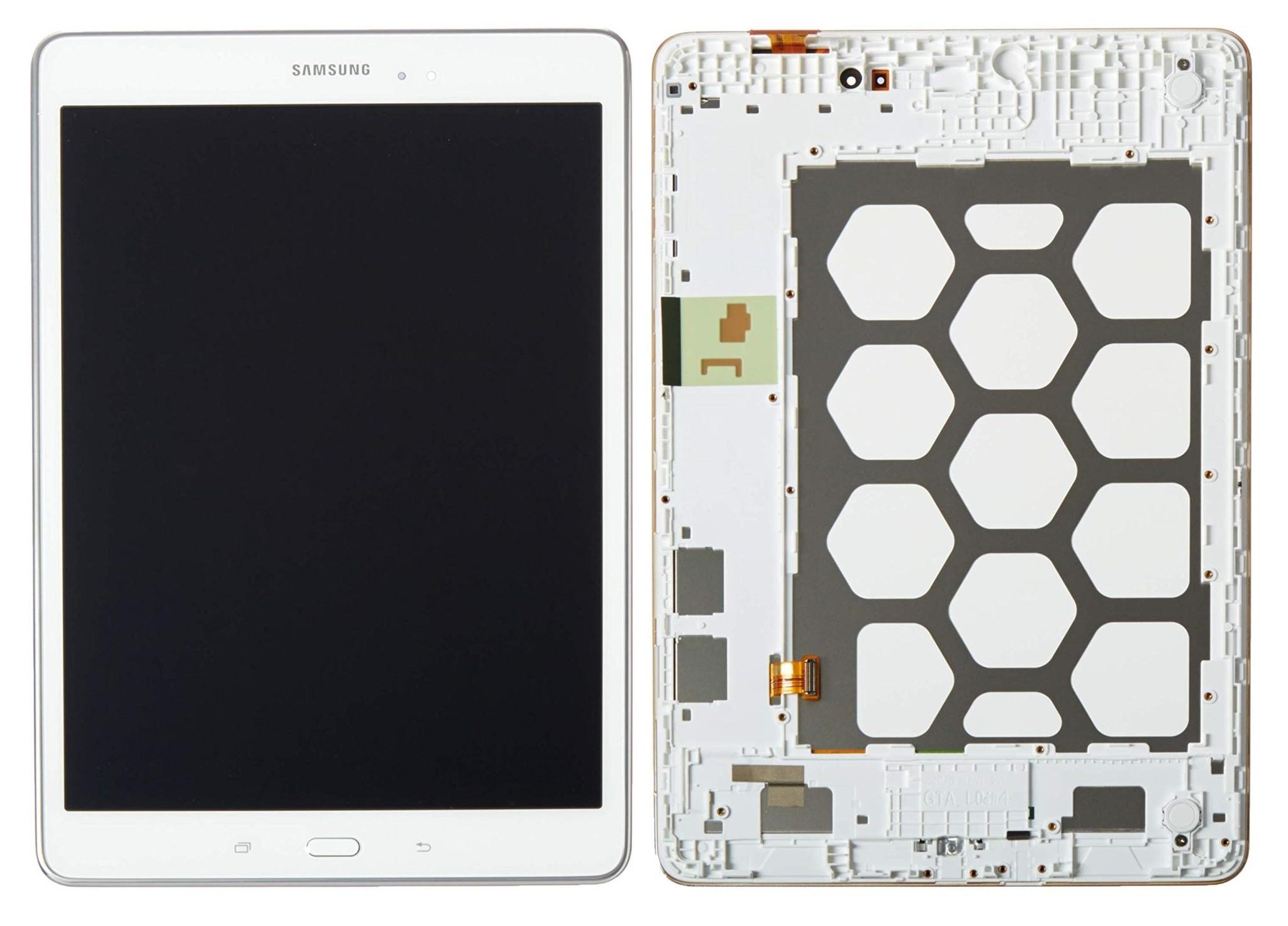 LCD Samsung Galaxy Tab A T550 White GH97-17400C