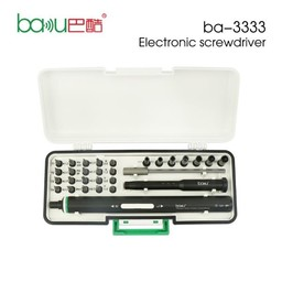 Baku BAKU Electronic Scerwdriver Set ba-3333 For all Smartphone