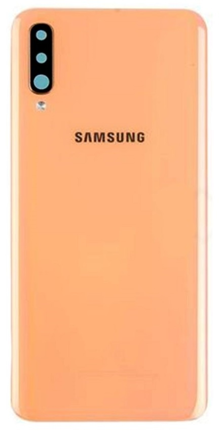 Samsung A705F Galaxy A70 Battery Cover / Deksel Orange GH82-19467D
