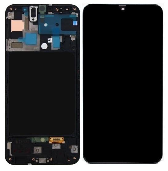 LCD Samsung Galaxy A71 SM-A715F  Display GH82-22151A Black