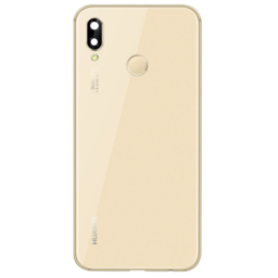 Huawei  P20 Lite Back Cover Gold With Fingerprint 02351WTG