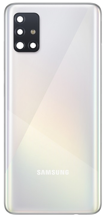 Samsung A515F Galaxy A51 Battery  back Cover / Deksel White GH82-21653A