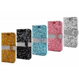 Stone Diamond Bookcase I-Phone SE 2nd