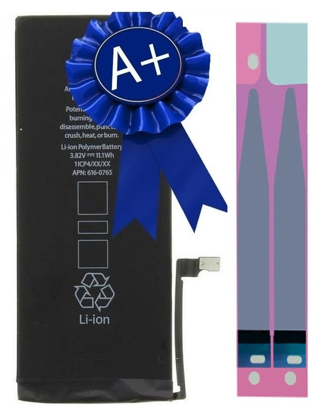 MT A+ Accu For I-Phone 6G With Sticker