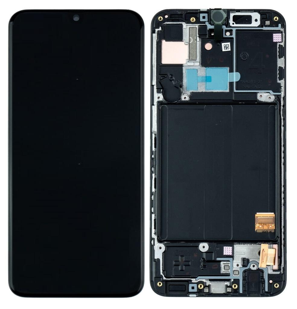 LCD Samsung Galaxy A41 SM-A415F Black GH82-22860A