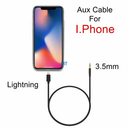 Aux Cable lightning - 3.5mm 1m GL-060