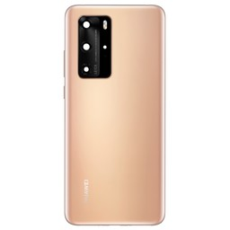 Huawei P40 Pro Back Cover Deksel Blue 02353MNB Blush Gold